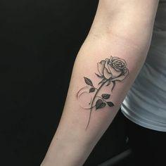 Likes, 57 Comments - Jéssica Paixão (Jéssica Paixão.tattoo) on Instagr. Mini Tattoos, Petite Tattoos, Cute Girl Tattoos, Sister Tattoos, Small Tattoos, Piercing Tattoo, Piercings, Forearm Tattoos, Body Art Tattoos