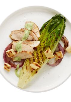 Try this Green Goddess Dressing-topped salad with grilled chicken tonight for dinner.