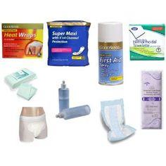 Postpartum Recover Kit Materials