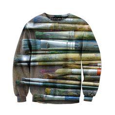 Beloved Shirts Paintbrushes Unisex Sweatshirt