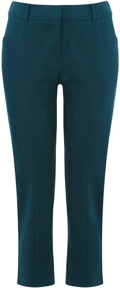 Womens dark teal trousers from Oasis - £30 at ClothingByColour.com