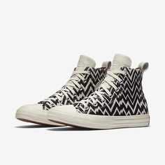 Converse x Missoni Chuck Taylor All Star High Top Women's Shoe Size 9.5  (Black) - Clearance Sale