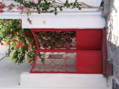 Red, On Hydra - Greece