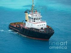 """Tug Boat in Bermuda""  Photography by D. Perry"