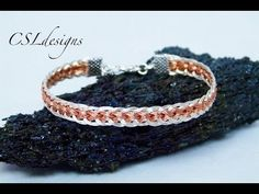 In this tutorial I show you how to make a multi strand hollow wirework kumihimo bracelet. Please feel free to give it a go yourself and I hope you enjoy. Flu...