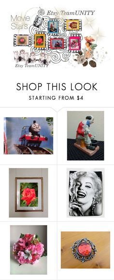 """""""Movie Stars"""" by galina-780 ❤ liked on Polyvore featuring vintage"""
