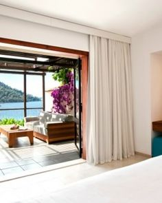 Hillside Beach Club  ( Fethiye, Turkey )  Type A rooms are around 430 square feet, with private terraces and tranquil sea views. #Jetsetter