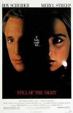 Still of the Night Movie Poster (27 x 40 Inches - 69cm x 102cm) (1982) -(Meryl Streep)(Roy Scheider)(Jessica Tandy)(Joe Grifasi)(Sara Botsford)(Josef Sommer)