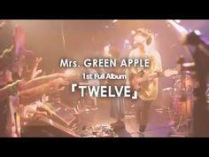 Mrs. GREEN APPLE 1st Full album 「TWELVE」Teaser  Get it:  http://www.cdjapan.co.jp/aff/click.cgi/e86NDzbdSLQ/4855/A712120/detailview.html?KEY=UPCH-29210  Tracklisting:  1 AIJOU TO HOKOSAKI /愛情と矛先 2 SPEAKING 3 PUBLIC / パブリック 4 AO / 藍(あお) 5 KIKORIDOKEI / キコリ時計 6 WATASHI / 私 7 NO.7 8 MISUKASAZU / ミスカサズ 9 SIMPLE 10 INTERLUDE -SHIROI ASA- / InTerLuDe ~白い朝~ 11 HUG 12 HELLO 13 SHOKINOUTA / 庶幾の唄
