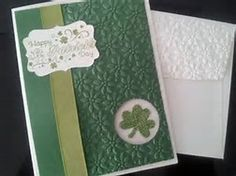 stampin up st patrick's day - Bing Images