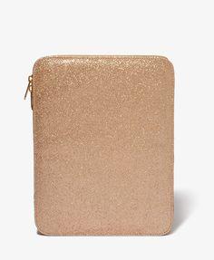 Glittered Tablet Computer Case #forever21 #giftspiration