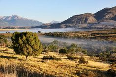 Laguna Terraplen entre Futalaufquen y Esquel, Chubut