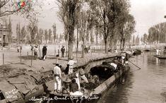 Imagen del CanaldelaViga. Ca. 1925.