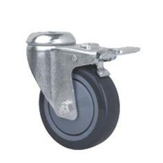 Lenkrolle mit R/ückenloch 150 mm TPE