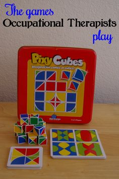 A fun game for working on visual perceptual and fine motor skills. Visit my blog at The Playful Otter to learn different ways to play this game.