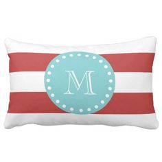 ==>>Big Save on          Red White Stripes Pattern, Teal Monogram Pillows           Red White Stripes Pattern, Teal Monogram Pillows Yes I can say you are on right site we just collected best shopping store that haveThis Deals          Red White Stripes Pattern, Teal Monogram Pillows today ...Cleck Hot Deals >>> http://www.zazzle.com/red_white_stripes_pattern_teal_monogram_pillows-189083939755518139?rf=238627982471231924&zbar=1&tc=terrest