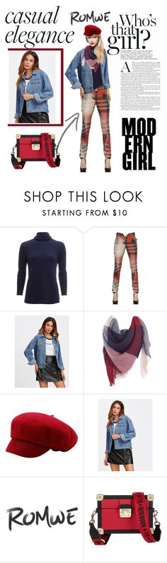 """""""jacket"""" by manueladimauro ❤ liked on Polyvore featuring White + Warren, Vivienne Westwood Anglomania and Tommy Hilfiger"""