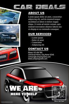 auto dealership flyer template mersn proforum co