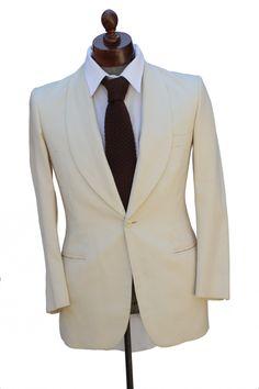 Cabaret Vintage - 1950s White Dinner Jacket, $225.00 (http://www.cabaretvintage.com/mens/1950s-white-dinner-jacket/)