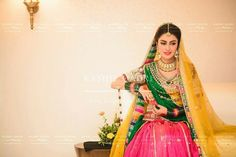 Ayeza Khan In Awesome Mehndi Dress Bridal Mehndi Dresses, Pakistani Dresses, Indian Dresses, Wedding Dresses, Wedding Outfits, Indian Outfits, Ayeza Khan Wedding, Desi Wedding, Wedding Wear