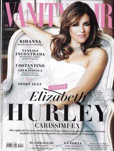 Vanity Fair magazine Elizabeth Hurley Rihanna Theo James Vanessa Icontrada Style