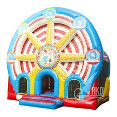 Riesenrad multi play Hüpfburg x x Bouncy Castle, Jukebox, Form, Ferris Wheel, Berlin, Play, Outdoor Decor, Design, Color