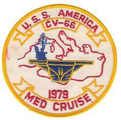 USS America (CV-66) Med. Cruise - 1979
