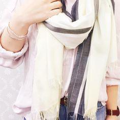 . 今コレアイテム☆ . ストライプシエスタストール No.195007112 ¥3,900+tax . color : ライトピンク.イエロー . #japan #fashion #cute #coordinate #ootd #春 #select #スタッフ #style #happy #ファッション #ショップ #ブランド #服 #コーディネート #東京 #大阪 #like4like #today #hair #ストール #bag #smile #hello #urban # http://www.butimag.com/fashion/post/1468565235257651030_2316560240/?code=BRhZEz5BS9W