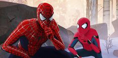 """ It's ironic Jefferson is wishing for MCU Spider-Man to be more like Miles when it's already influenc. Cloudy with a Chance of Spider-Verse Marvel Fan, Marvel Dc Comics, Marvel Heroes, Marvel Avengers, Spiderman Marvel, Captain Marvel, Spiderman 2002, Amazing Spiderman, Spiderman Classic"