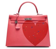 ARTBURO & Hermès FROM THE HEART.  #Artburo #Hermès #Personalization #ValentinesDay #FromTheHeart #AndyWarhol #DamienHirst #JeffKoons #BestGift #ExceptionalPiece