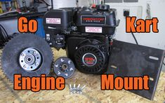 How to install the engine onto the go kart engine mount, and the go kart motor mount to the frame. Also the go kart drive wheel assembly, chain, and clutch. Go Kart Frame Plans, Go Kart Plans, Go Kart Motor, Go Kart Engines, Electric Go Kart, Diy Go Kart, Engine Repair, Small Engine, Metal Projects