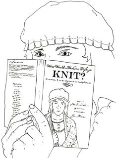 What (Else) Would Madame Defarge Knit? edited by @HeatherOrdover and published by Cooperative Press, cooperativepress.com