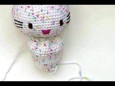 Häkeln * Hello Kitty Engel mit Herz * Teil 2 * Körper * Amigurumi