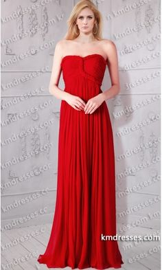 chic braided strapless sweetheart ruched empire waist red chiffon gown.prom dresses,formal dresses,ball gown,homecoming dresses,party dress,evening dresses,sequin dresses,cocktail dresses,graduation dresses,formal gowns,prom gown,evening gown.