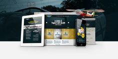 Projeto moderno, com gerenciamento dinâmico de conteúdo e layout responsivo, que se adapta a qualquer periférico.  Inauguramos o novo website na data em comemoração aos 65 anos do aeroclube. Data, Website, Drinks, Diary Book, Trendy Tree, Drinking, Beverages, Drink, Beverage