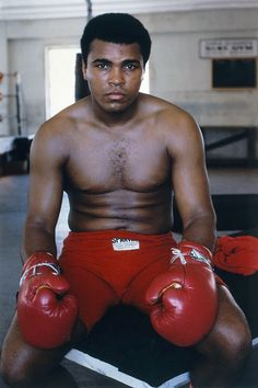 be great at something - Mohammed A. - heavy weight boxing champion