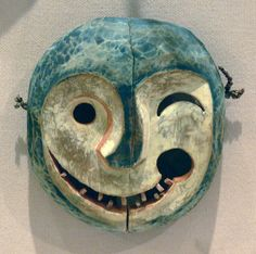 inuit mask, thungak, spirit that lingers in water and scares people