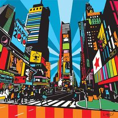 Andy Warhol, New York Painting, Pop Art Images, Pop Art Fashion, Teen Art, Nyc Art, New York Art, Art Archive, Keith Haring