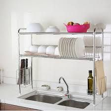 Resultado de imagen para country kitchen overhead open draining rack