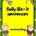 *Common Core Aligned!* With this packet, you will be able to conduct daily grammar minilessons with your students.  Grammar minilessons continue in...
