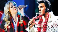 Elvis Presley & LeAnn Rimes Celebrate Christmas In Remastered 'Here Comes Santa Claus' Duet
