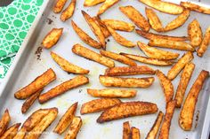 Baked Cajun Fries — The Hobo Kitchen