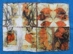 Elizabeth Bunsen - silk book