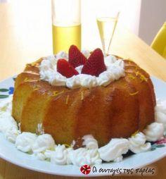 Αλί! Αλί! …Babà  με limoncello; Άλλο πάλι κι αυτό! Cookbook Recipes, Cooking Recipes, Limoncello, Recipe Images, Greek Recipes, Deserts, Lemon, Pudding, Sweets