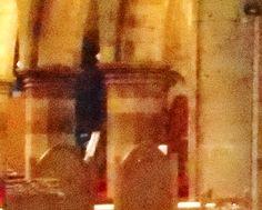 Ghost of John Knox in Perth Scotland .