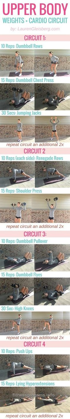 Best workout tip : Workout : Fitabulous Fall Fitness Calendar: Upper Body Circuit Body Fitness, Fitness Tips, Health Fitness, Gym Fitness, Workout Calendar, Fitness Calendar, Calendar Calendar, Upper Body Circuit, Lauren Gleisberg