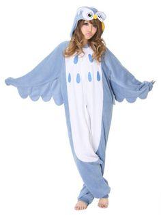 Teen Kigurumi Owl Girl's Costume
