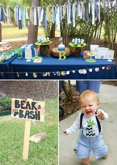 Storybook First Birthday Bash {Goodnight, Little Bear}