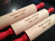 Personalized Mini Rolling Pin $5.00 #madewithluv