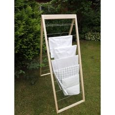 Outdoor Chairs, Outdoor Furniture, Outdoor Decor, Wardrobe Room, Clothes Line, Room Accessories, Housekeeping, Ladder Decor, House Styles